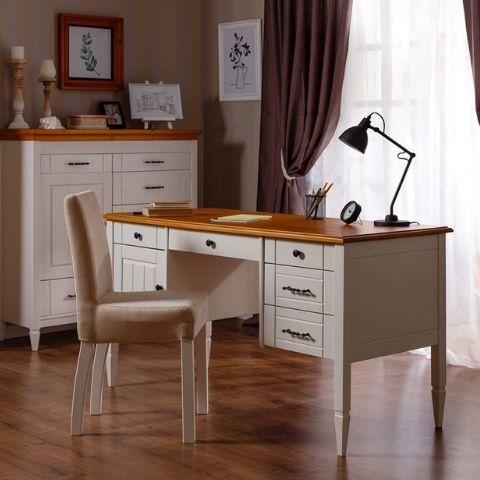 Письменный стол белый Дания 4