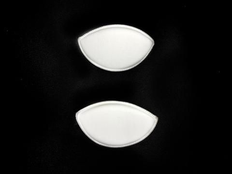 Вкладыши бельевые белые размер №2 (1 пара)