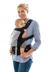 Эргономичный слинг-рюкзак Amazonas Smart Carrier Black (черный)