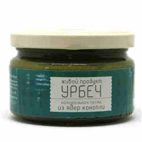 Урбеч из ядер конопли, 225 гр. (Живой продукт)