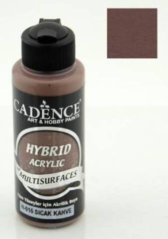 №16 Hybrid Acrylic, Теплый кофейный, 70мл., Cadence