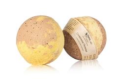 Гейзер (бурлящий шарик) для ванн Сливочное печенье, 120g ТМ ChocoLatte