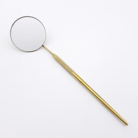 Зеркало для Лашмейкеров (среднее, круглое) золотое J-HP-02/G