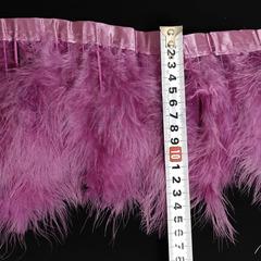 Купить оптом перья Марабу на ленте фиолетовые Amethyst