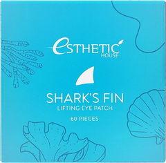 Гидрогелевые патчи для глаз ПЛАВНИК АКУЛЫ Shark's Fin Lifting Eye Patch, 60 шт ESTHETIC HOUSE