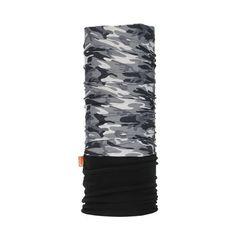 Шарф-труба спортивный WDX 2171 camouflage black