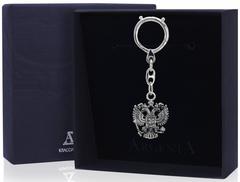 Брелок для ключей «Герб» с чернением