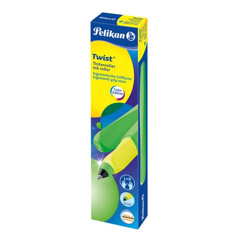 Pelikan Office Twist - Standard Green Neon, ручка-роллер, M