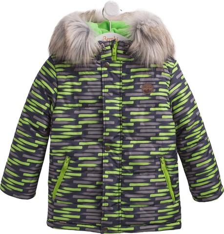 КТ196 Куртка для мальчика зимняя