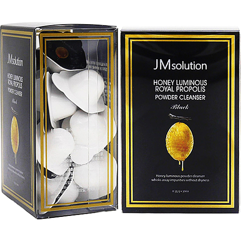 JMsolution Энзимная пудра с прополисом - Honey luminous royal propolis powder cleanser, 30*0,35г