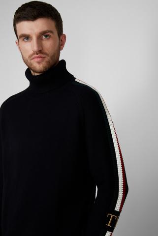Мужской темно-синий свитер ICON TIPPED Tommy Hilfiger