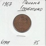 V1991 1967 Панама 1 сентесимо