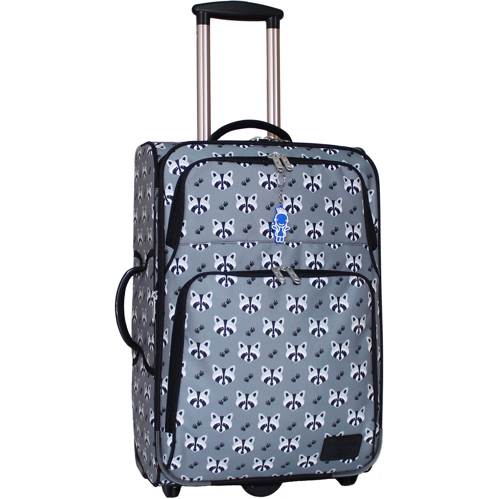 Дорожные чемоданы Чемодан Bagland Леон средний дизайн 51 л. сублімація 353 (0037666244) IMG_7833.JPG