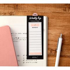 Стикеры Midori Sticky Paper Journal - Weekly Log