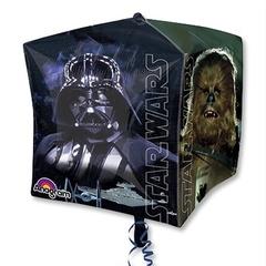 Фольгированный шар куб Звездные Войны