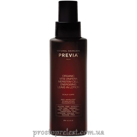 Previa Vitis Vinifera Energising Leave-in Lotion – Энерджайзинг лосьон против выпадения волос