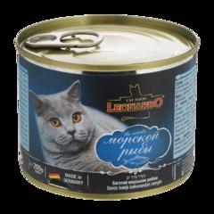 Leonardo Консервы для кошек с морской рыбой (Банка)