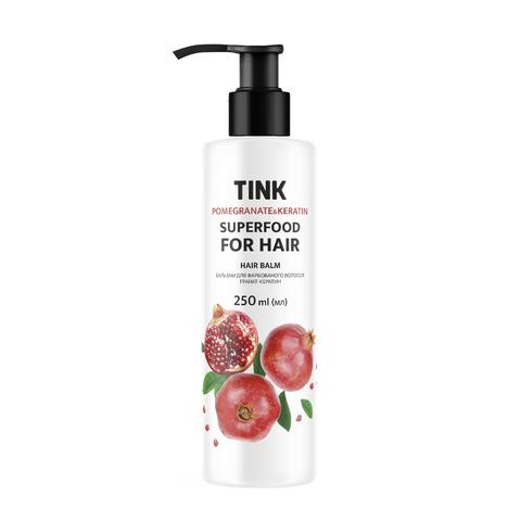 Бальзам для фарбованого волосся Гранат-Кератин Tink 250 мл (1)
