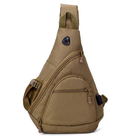 Тактический однолямочный рюкзак Cool Walker 6039 Хаки