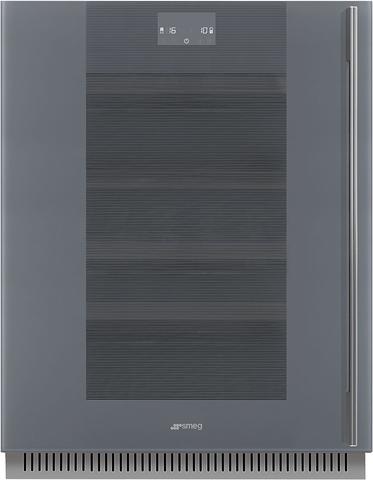 Встраиваемый винный шкаф Smeg CVI138LS3