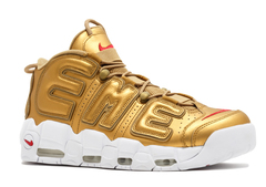 Nike Air More Uptempo 96 'Supreme/Gold/White'