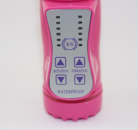 Вибратор клиторально-вагинальный  розовый