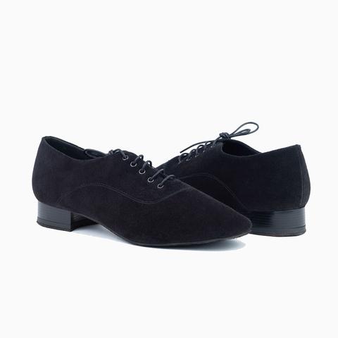 Туфли мужские для танцев из замши