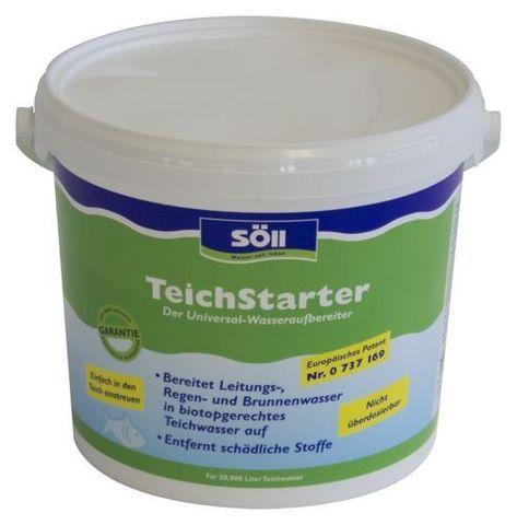 Teich-Starter 5,0 кг - Средство для подготовки новой воды