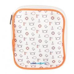 Bebe confort. Набор аксессуаров по уходу за малышом в футляре (5 предметов), белый/коралловый вид 2