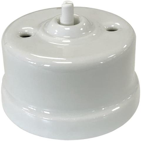 Выключатель поворотный без ручки 10А 250В~. Цвет Белый. Fontini Garby(Фонтини Гарби). 30306171
