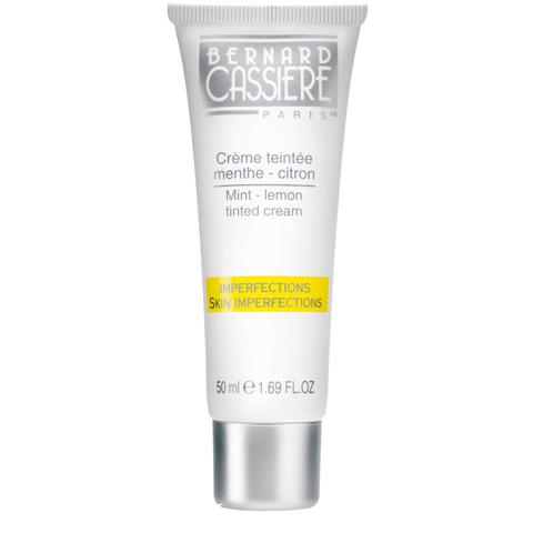 BERNARD CASSIERE линия  Лимон - Мята: Тональный крем для лица мята-лимон, 50мл