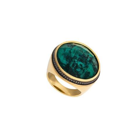 Кольцо Emerald 17.2 K4951.17/17.2 G/G