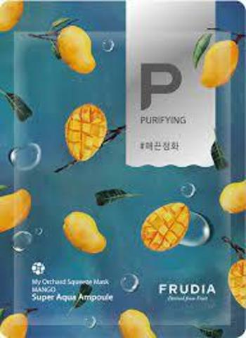 Смягчающая маска для лица с манго Frudia, 20 мл