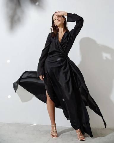 Платье из шелка Том Форд