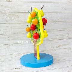 Магнитное дерево с фруктами
