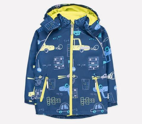 Crockid (Крокид) куртка с флисовой подкладкой для мальчика