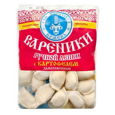 Вареники  «Ирмень» с картофелем 500г