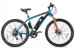 Электровелосипед Eltreco XT 600 D (2021) Сине-оранжевый