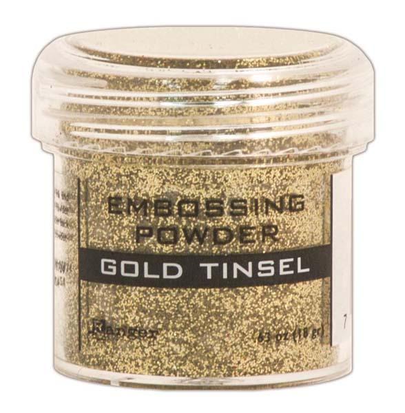 Пудра для эмбоссинга Ranger Ink- GOLD TINSEL