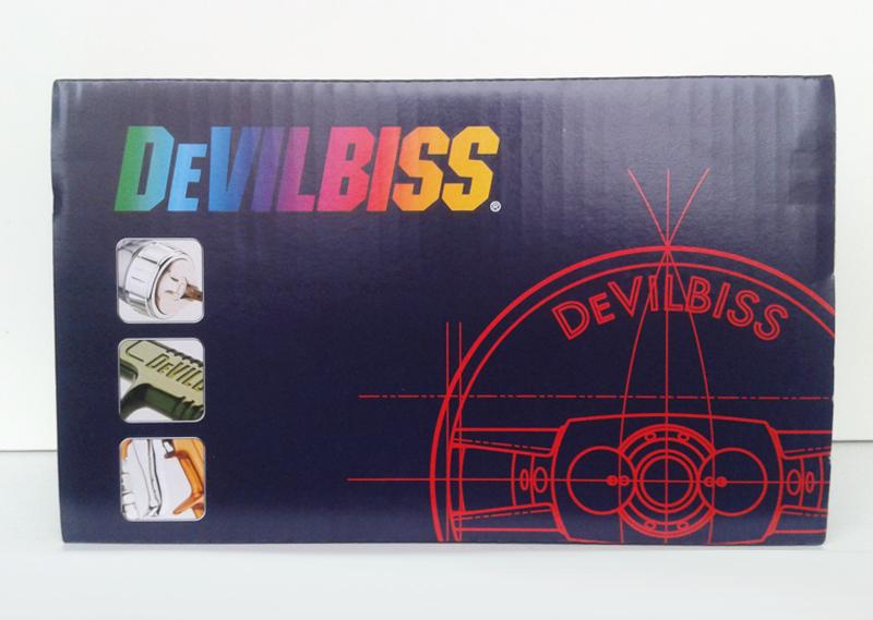 De Vilbiss FLG 5 коробка