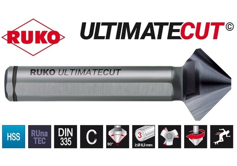 Зенковка Ruko 90° DIN335C UltimateCut HSSE RUnaTEC 3z 20,5мм 102781EP