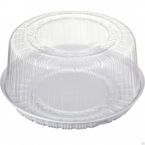Короб для торта пластик 28,5*10см