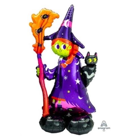 Ходячая фигура Ведьма, 139х60 см