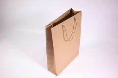 Пакет подарочный крафт однотонный 24х33х8, 1 шт.