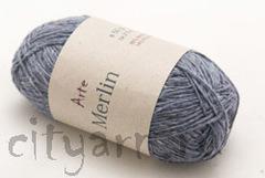 цвет 117 / серо-синий с синими, молочными и песочными вкраплениями