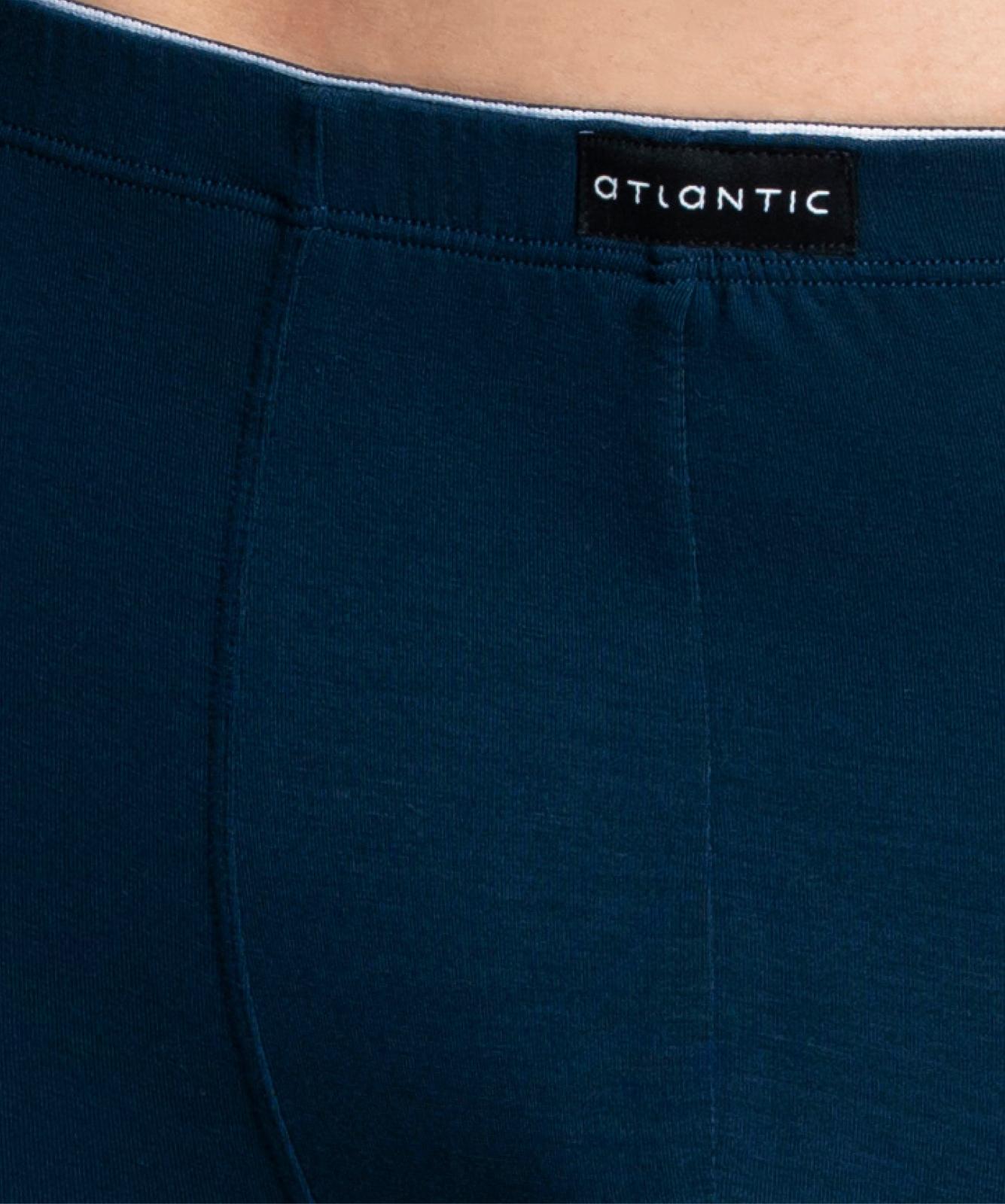 Мужские трусы шорты Atlantic, 1 шт. в уп., бамбук, темно-синие, MH-1182