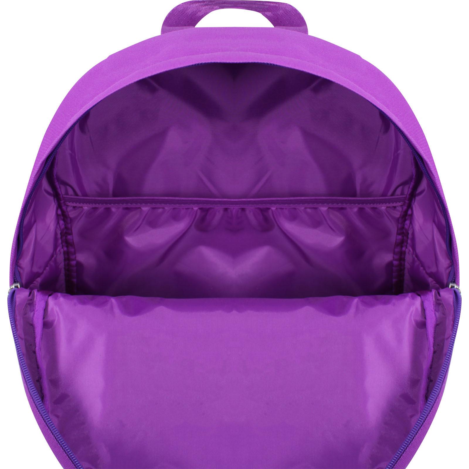 Рюкзак Bagland Молодежный W/R 17 л. 170 Фиолетовый 772 (00533662) фото 5
