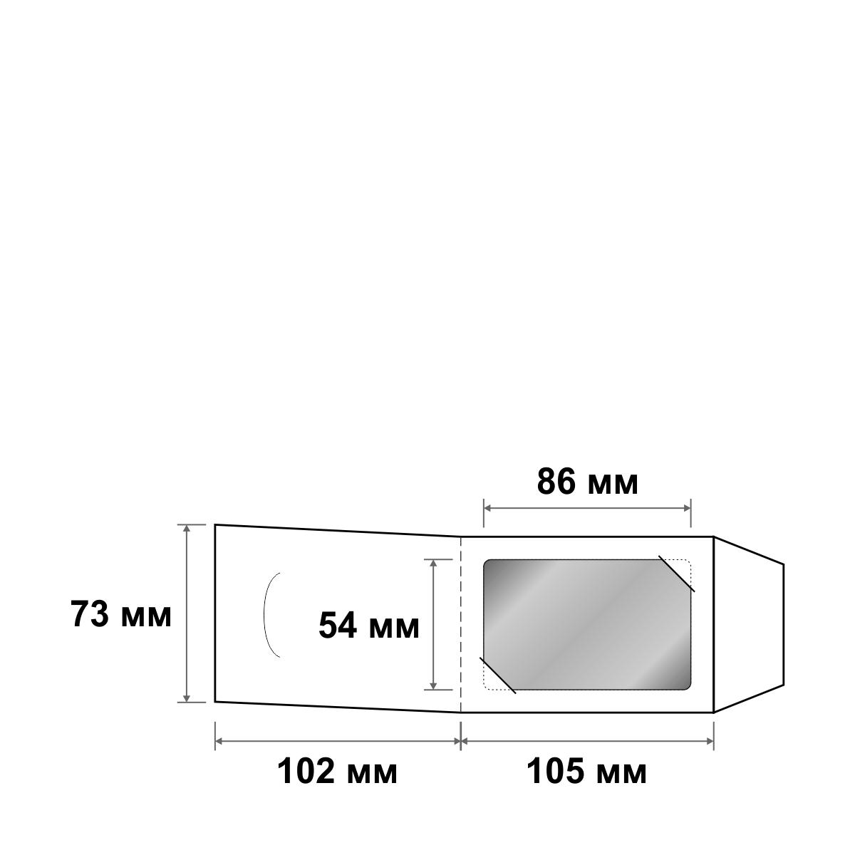 Картхолдер самосборный для карты 105х73