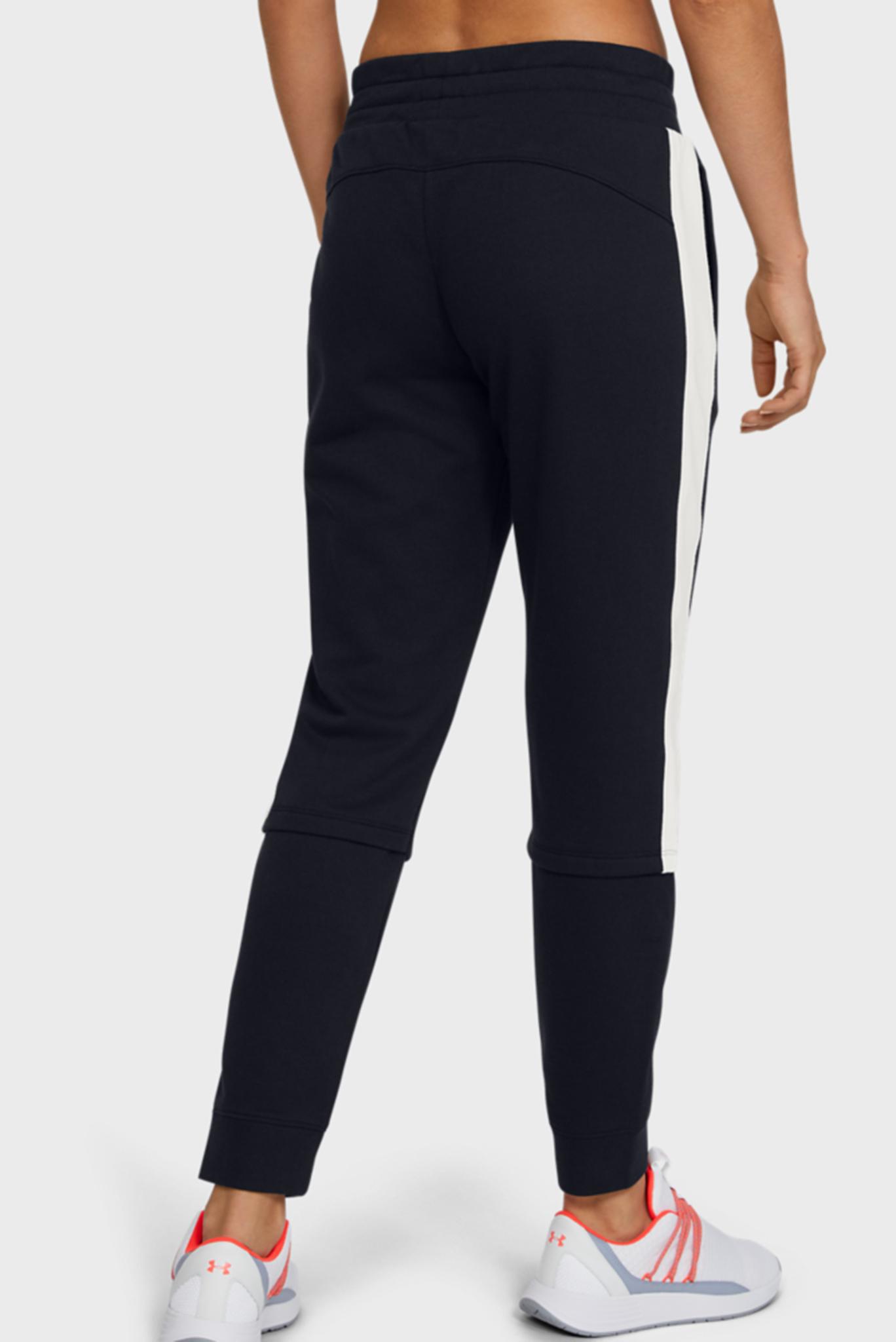 Женские черные спортивные брюки RIVAL TERRY JOGGER Under Armour