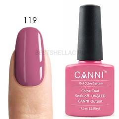 Canni, Гель-лак № 119, 7,3 мл